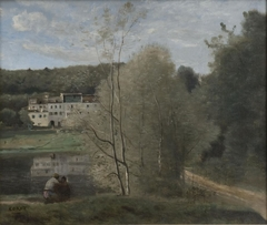 Ville d'Avray: Pond and Cabassud House