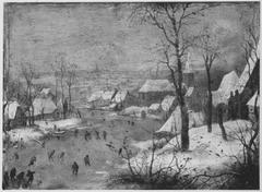 Winterlandschaft (Kopie nach)