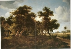 Wooded Landscape with Farm