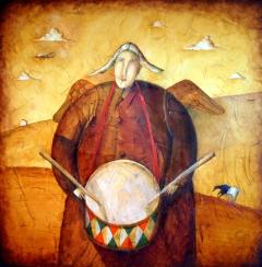 Wooden Drummer