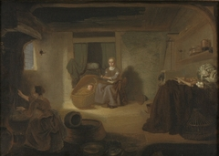 Young Woman in a Kitchen