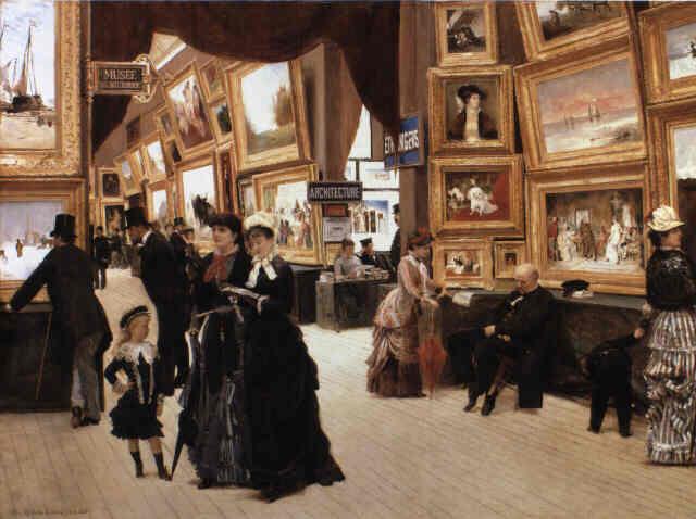 A Corner of the Salon in 1880 (Un Coin du Salon en 1880)