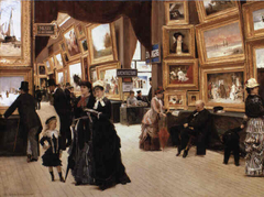 A Corner of the Salon in 1880 (Un Coin du Salon en 1880)