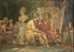 Alexander the Great in the Workshop of Apelles