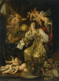 Allegory of Prudence Triumphing Over Vanity (Allegory of Faith)