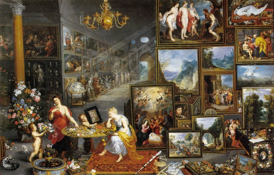 Allegory of Sight and Smell