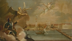 Allegory of the Victory of the Russian Fleet over the Turks in the Turkish War of 1768-1774