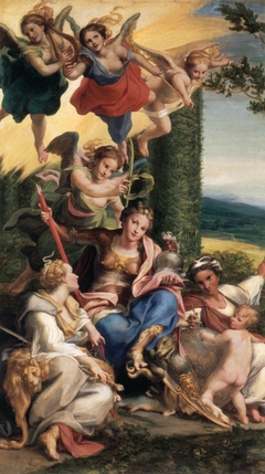 Allegory of Virtues