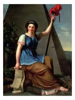 An allegory of the French revolution