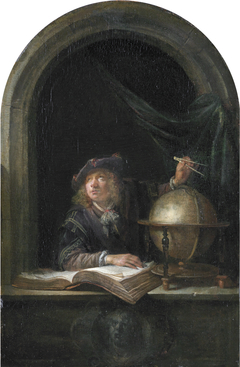 An Astronomer with a Globe