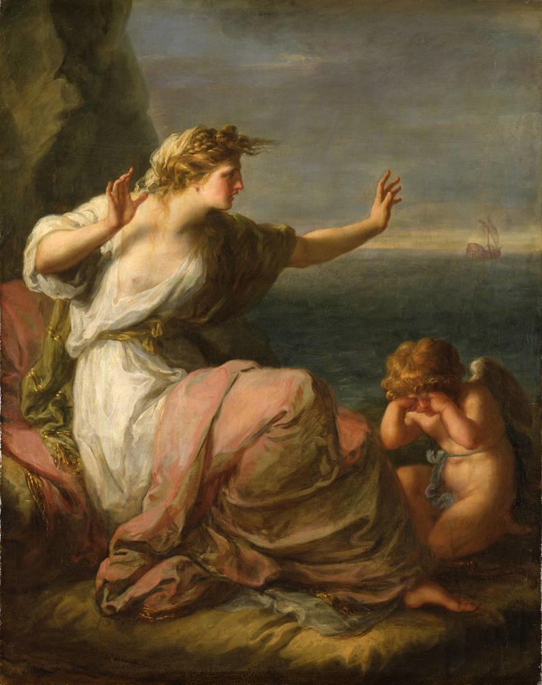 Ariadne left on the island of Naxos