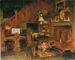 Atelier des Künstlers in Venedig