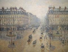 Avenue de l'Opera, Effect of Snow