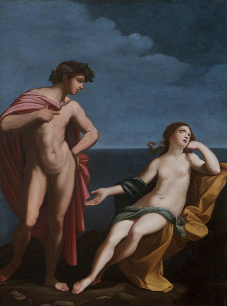 Bacchus and Ariadne (after Reni)