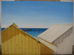 Beach Huts in Batz-sur-Mer