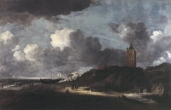 Beach scene, possibly near Egmond
