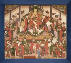 Bodhisattva Jijang (Ksitigarbha) and the Ten Kings of Hell