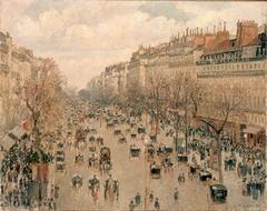 Boulevard Montmartre, soleil après-midi