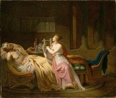 Calliope Mourning Homer