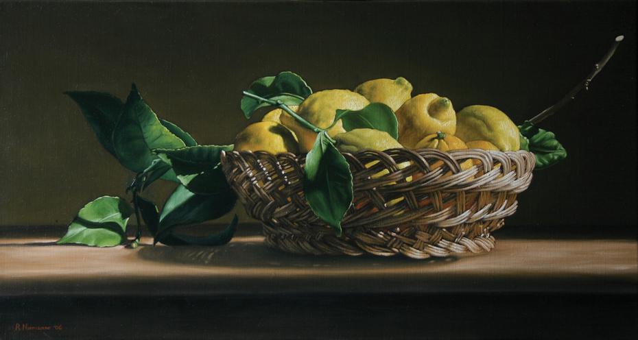 Canestra di limoni / Basket of lemons