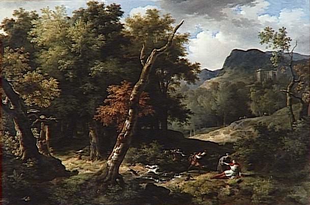 Carloman blessé à mort dans la forêt d'Yvelines