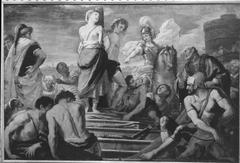 Chlorinda rettet Sofronia und Olindo vor dem Flammentod