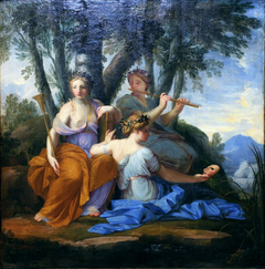 Clio, Euterpe and Thalia