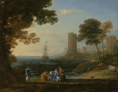 Coast View with the Abduction of Europa