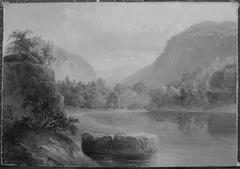 Cove of a Mountain Lake