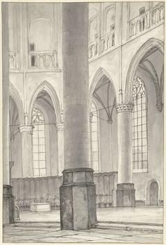 De tombe van Floris V in de Grote Kerk te Alkmaar