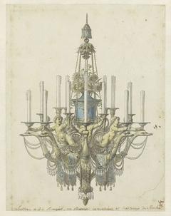 Design for a chandelier