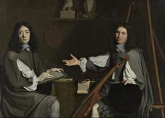 Double Portrait of both Artists