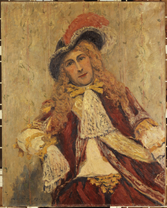 Émile Dehelly (1871-1969), sociétaire de la Comédie-Française, en costume de scène