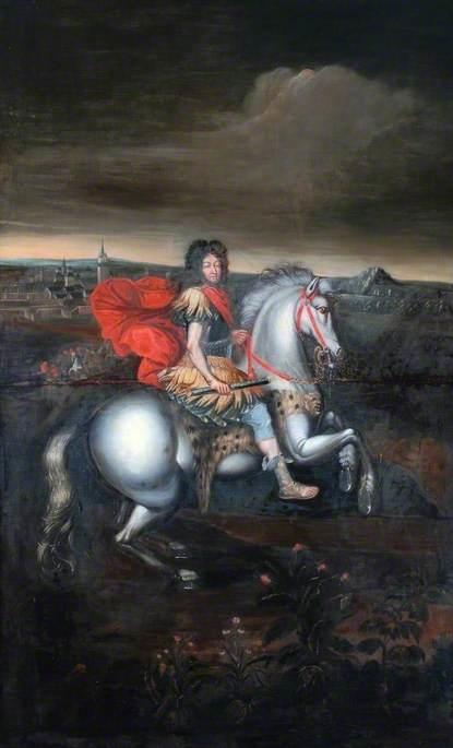 Equestrian Portrait of Louis XIV