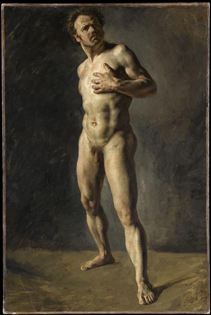 Étude d'homme nu