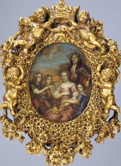 Family Portrait of Willem Hadriaan of Nassau, Lord of Odijk, with his Wife and Children