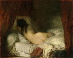 Femme nue couchée