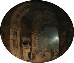 Figures in a Crypt
