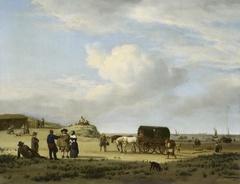 Figures on the Coast at Scheveningen
