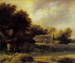 Fishermen's cottages in the dunes