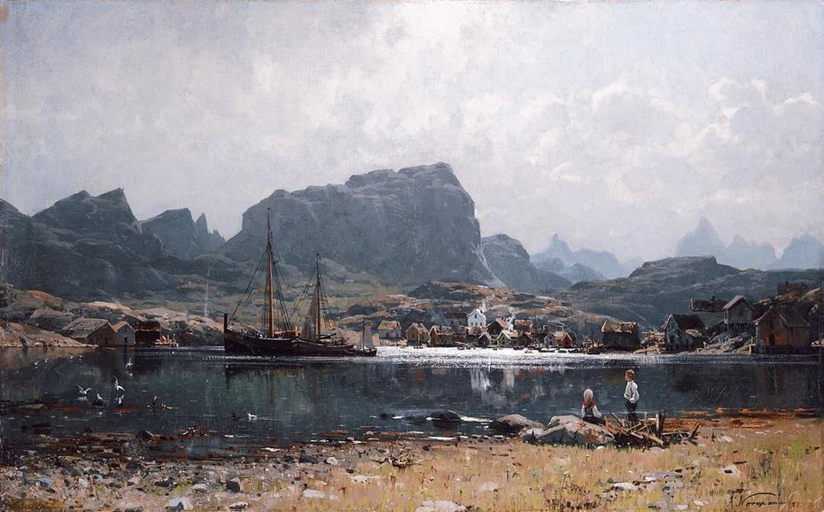 Fishing Village in Northern Norway