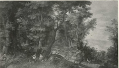 Forest Landscape (The Rest on the Flight into Egypt)