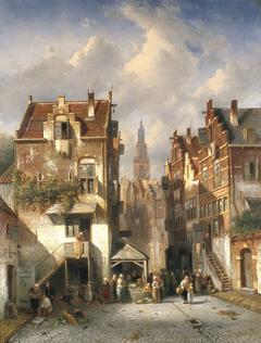 Gezicht op Nijmegen