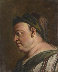 Head of a Man in Profile (a Steward?)