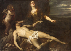 Hero laments the dead Leander