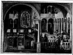 Het leven van de heilige Augustinus