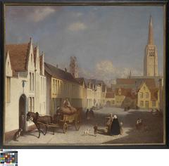 Het Walplein in Brugge