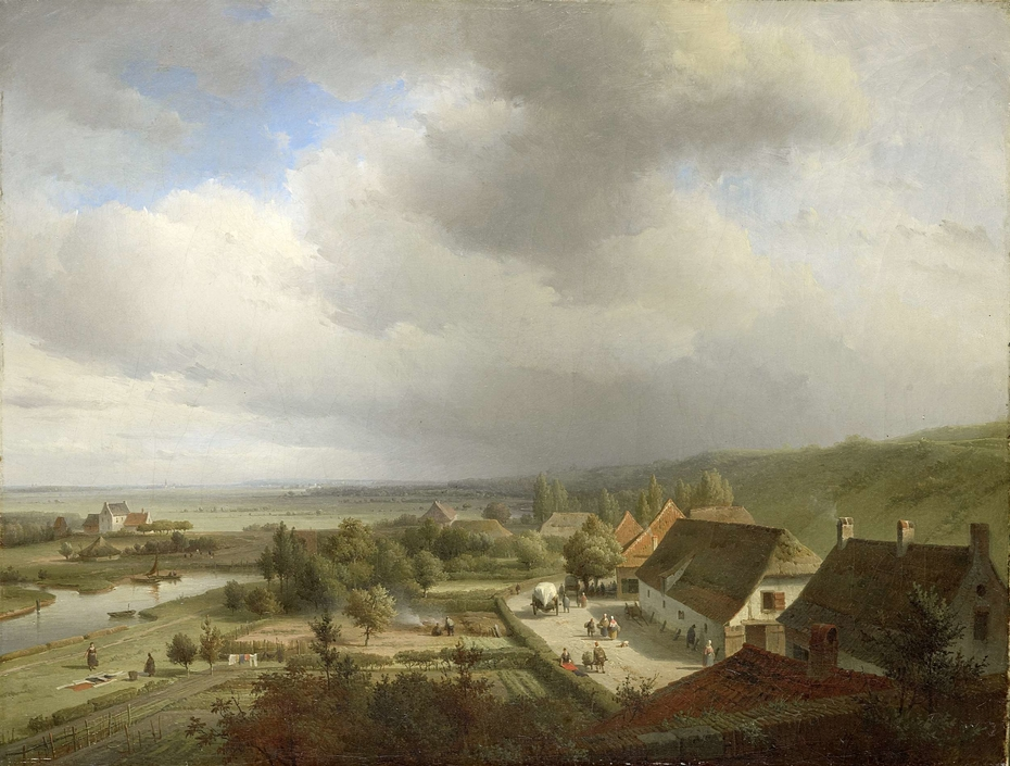 Hilly Landscape near Wageningen