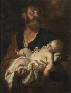 Hl. Josef mit dem Christkind