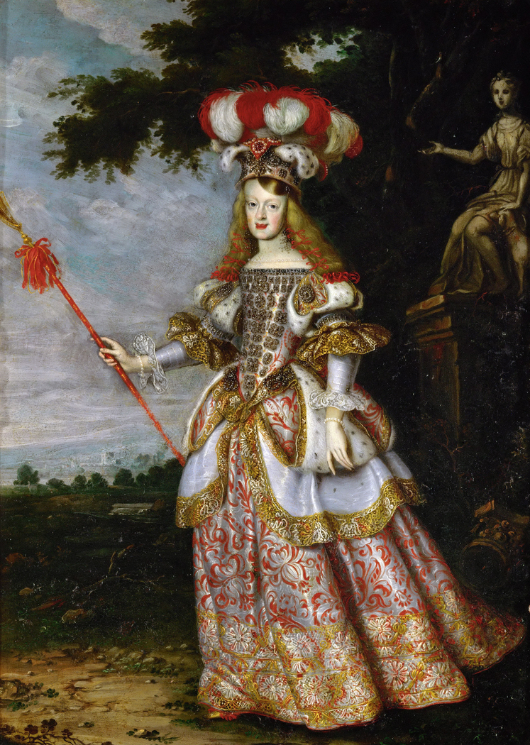 Infanta Margaret Theresa (1651-1673), Empress, in theater dress